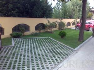Poza Pavaje autoblocante din beton vibropresat gama GRILA care pot fi inierbate