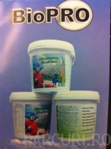Ingrasamant organic natural biologic BioPro, Biohumus universal pentru plante si flori de gradina, realizat din prelucrarea mranitei in ferme specializate, cu ajutorul ramelor.