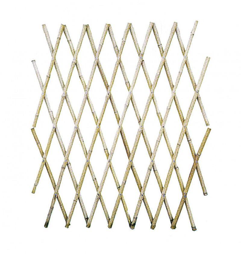 Gard extensibil din bambus. Poza 10441