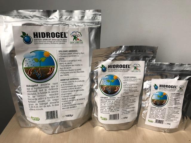 Hidrogel horticol sau agricol granulat 1 kg - absoarbe, retine si elibereaza apa. Poza 11671