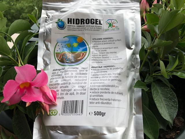 Hidrogel Gardenis pentru horticultura si agricultura, 500 de grame