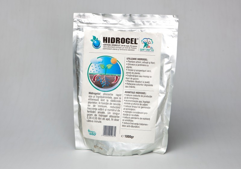 Hidrogel horticol in pungi de 1 kg