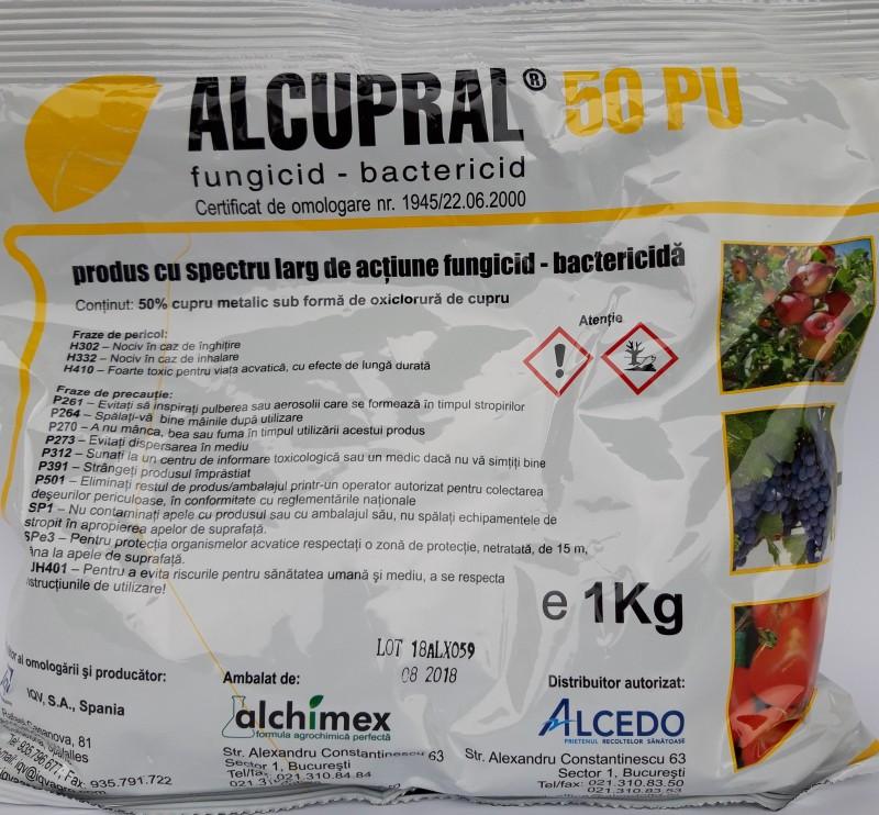 Fungicid ALCUPRAL 50 PU, 1 kg. Poza 12306