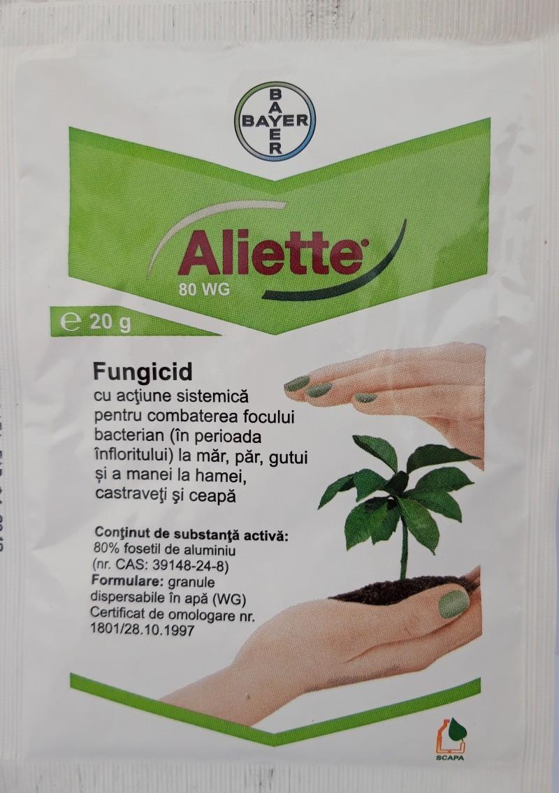 Fungicid ALIETTE 80 WG, 20 g. Poza 12444