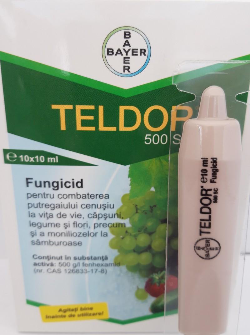 Fungicid TELDOR 500 SC, 10 ml. Poza 12676