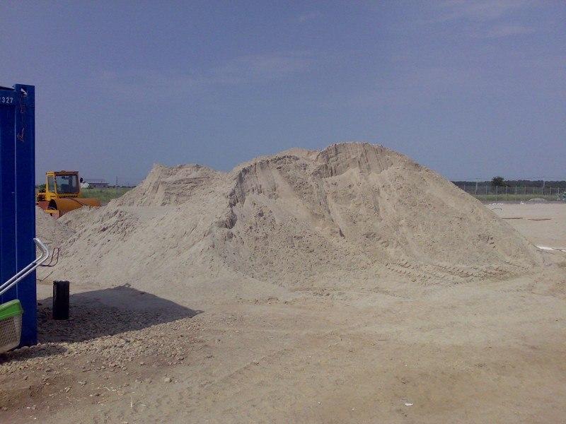 Nisip spalat pentru gazonari