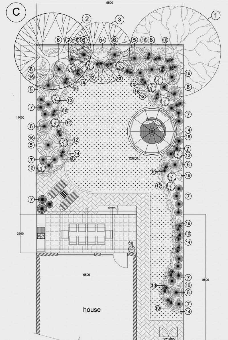 Proiectare 2D pe calculator pentru gradini, parcuri si spatii verzi, inclusiv irigatii, drenuri si iluminare