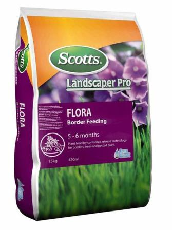 Ingrasamant pentru plante de gradina Landscaper Osmocote Flora sac 15 kg