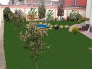 Proiectarea - amenajarea gradinilor si parcurilor cu sisteme de irigatii, drenuri, cablaje electrice de gradina si planuri de plantare