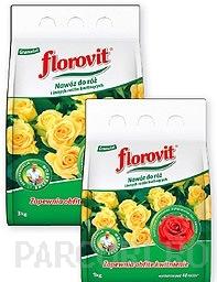 Ingrasamant granulat Florovit pentru fertilizarea trandafirilor de gradina, la ambalaj de 1 kg. Ingrasamant chimic complex.