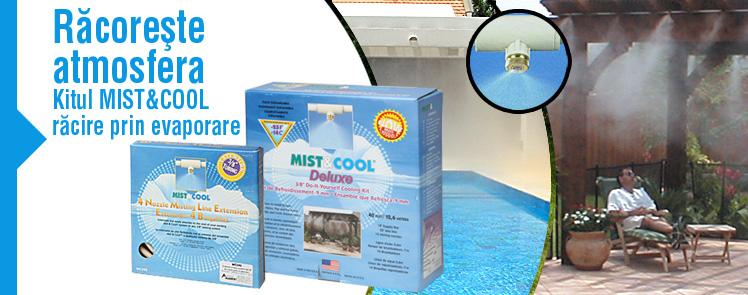 Instalatie de racorire prin ceata (perdea de ceata) Mist & Cool