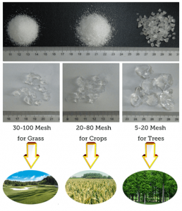 Poza Tipuri de hidrogel agricol sau horticol