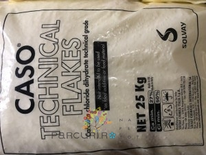 poza Clorura de calciu  (74%) pentru deszapezire in saci de 25 kg.