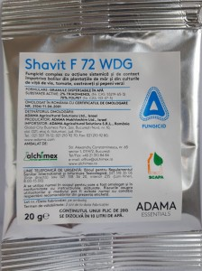 poza Fungicid SHAVIT F 72 WDG