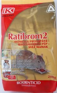 poza Momeala raticida RATIBROM FRESH BAIT, 200 g