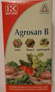 poza Insecticid moluscocid AGROSAN B, 500 g