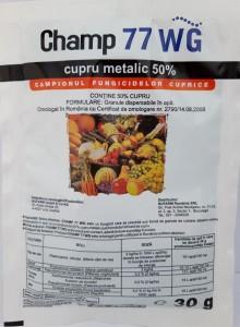 poza Fungicid CHAMP 77 WG, 30 g