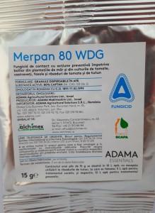poza Fungicid MERPAN 80 WDG