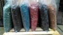 poza Chipsuri decorative din lemn colorat rosu/galben/portocaliu/maro, saci 50 litri
