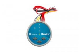 poza Kit programator electronic pe baterie, Hunter NODE Bluetooth cu 1 zona, electrovana inclusa, pentru sisteme de irigatii