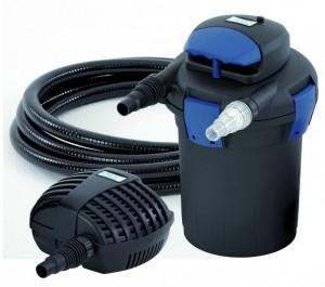 poza Set Bio Press - filtru sub presiune cu UVC si pompa 4000