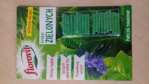 poza Ingrasamant Florovit bastonase pentru plante verzi 20 buc