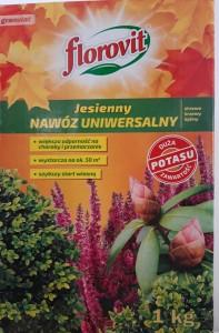 Poza Ingrasamant chimic granulat Florovit de toamna universal pentru flori, arbori, arbusti ornamentali 3kg. Poza 14918