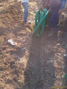 Poza Tuburi de drenaj pentru instalatii de drenuri si sisteme de drenaj parcuri si gradini