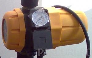 Poza Presostat electronic, kit hidrofor pentru pompe de apa submersibile sau de suprafata.