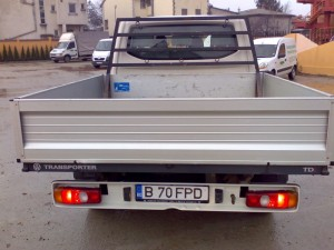 poza Transport cu masini de 3,5 tone (maxim 2 paleti de 1400 kg. pe transport)