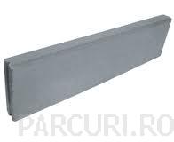 poza Borduri pentru parcuri 100 x 5 x 20 cm din beton vibropresat