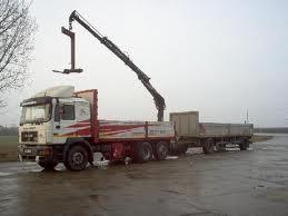 poza Transport borduri si pavele (maxim 12 paleti) cu camion cu macara