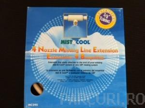 poza Kit de extensie a perdelelor de ceata Mist & Cool pentru racirea teraselor si suprafetelor exterioare
