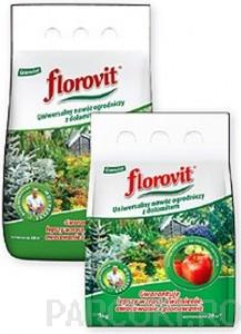 poza Ingrasamant complex granulat Florovit Universal cu dolomit pentru flori si plante de gradina 5 kg