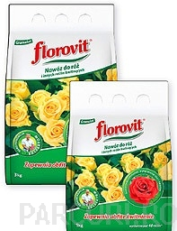 poza Ingrasamint chimic complex, granulat, pentru trandafiri Florovit - ambalaj 3 kg