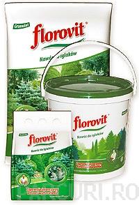poza Ingrasamint chimic Florovit complex, profesional, granulat pentru conifere - sac 25 kg