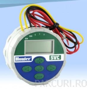 poza Programatoare Hunter SVC 400 pe baterie, 4 zone de irigatii