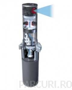 poza Aspersor tip turbina PGP 10 cm, Hunter, pentru instalatii de irigatii si sisteme de udare gradini