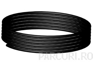 poza Tub capilar negru, D =2mm, 80 cm, 500 buc./colac