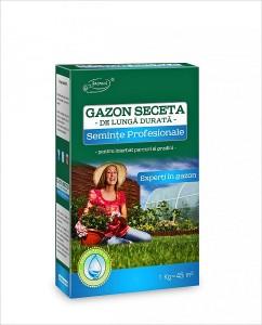 poza Seminte gazon rezistent seceta (cutie 1 Kg.)