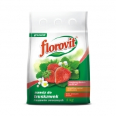 poza Ingrasamint chimic Florovit complex, profesional, granulat pentru capsuni si fructe de padure - ambalaj 1 kg