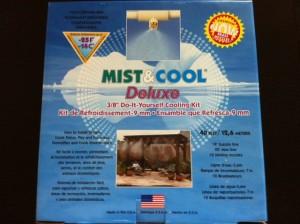poza Perdea de racire cu ceata Mist & Cool pentru racorire terase prin pulverizarea apei