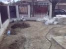 Gard din beton si metal