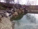 Dig din piatra naturale cu rol de zid de sustinere a alpinariului