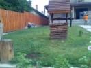 Fantana decorativa din lemn pentru gradina